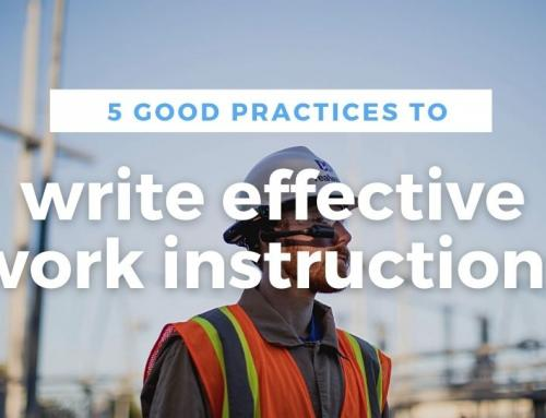 Effective work instructions: 5 good practices to write them