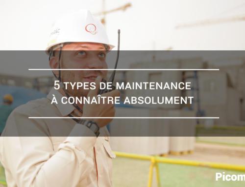 5 Types de maintenance à connaître absolument