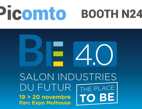 The BE 4.0 Trade Show – Picomto on booth N-24