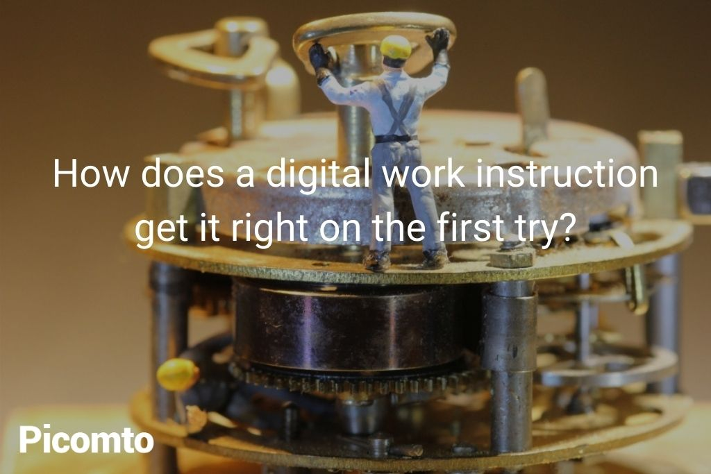 digital instructions in industry