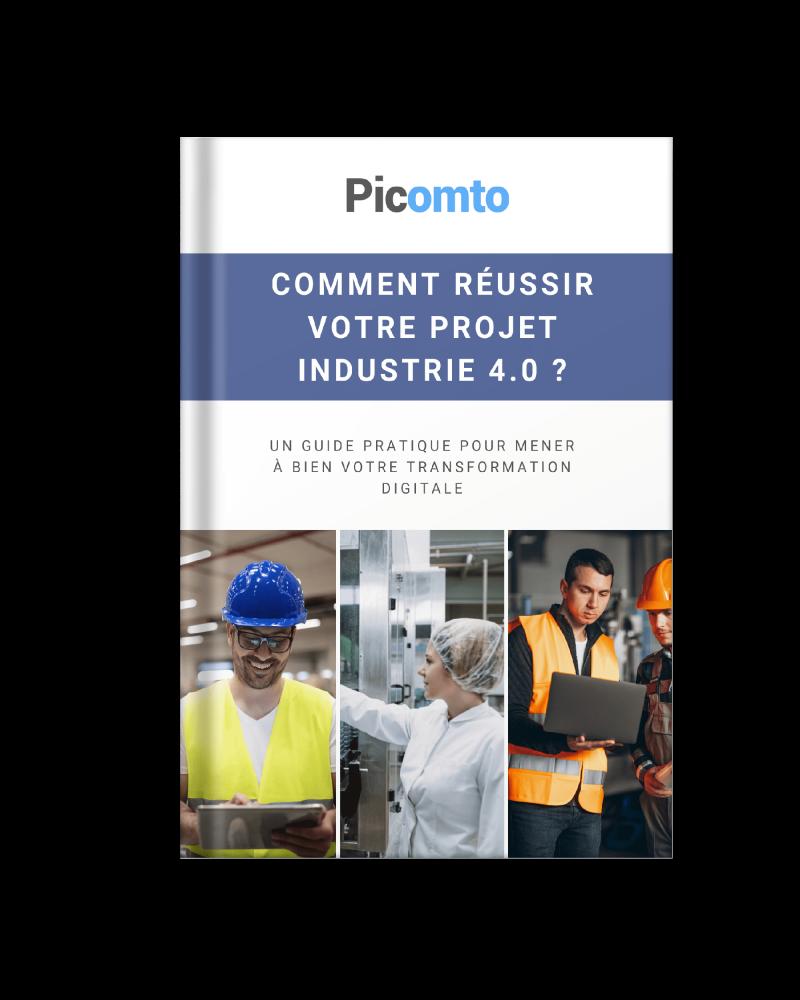 Ebook - Comment réussir votre projet Industrie 4.0 ?