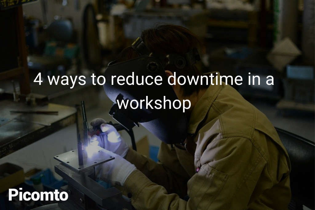 4 ways to reduce downtime in a workshop