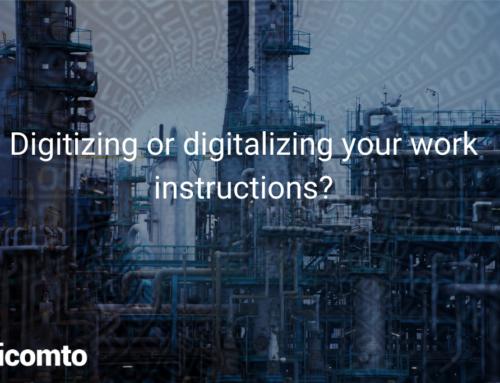 Digitizing or digitalizing your work instructions?