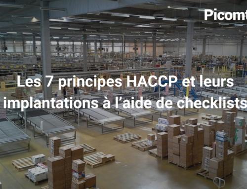 Les 7 principes HACCP et leurs implantations à l'aide de checklists